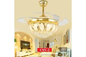Quạt trần đèn cánh cụp CSV-2