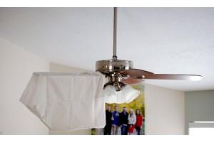 Cách vệ sinh quạt trần đèn trang trí ngay tại nhà
