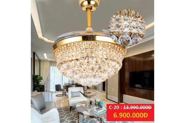 Quạt trần đèn C-20 Luxury