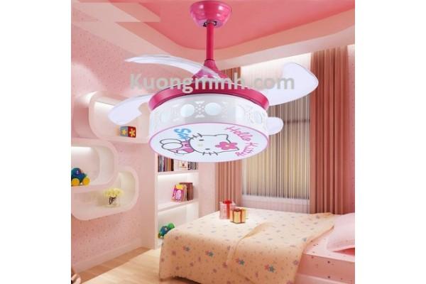 Quạt trần trang trí phòng trẻ em CTE-27