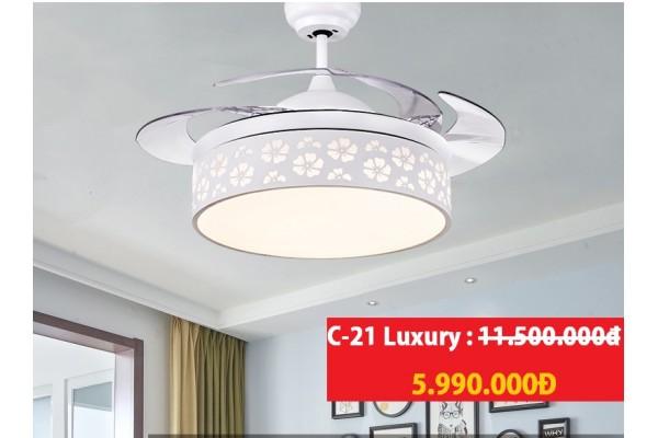Quạt trần đèn C-21 Luxury